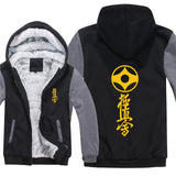 Kyokushin Karate  Pullover  Men Coat  Sweatshirts Hoody bicolored - kyokushin-shop