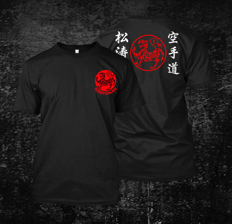 Black Men T-shirt Shotokan Karate Japan - karate kyokushin shop