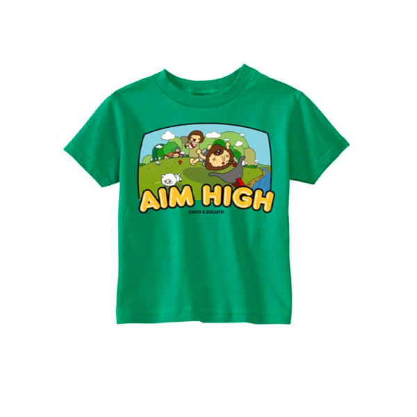 Aim High Kids Tee
