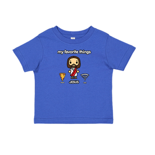 My Favorite Things Kids Tee