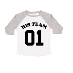 His Team Kids Raglan