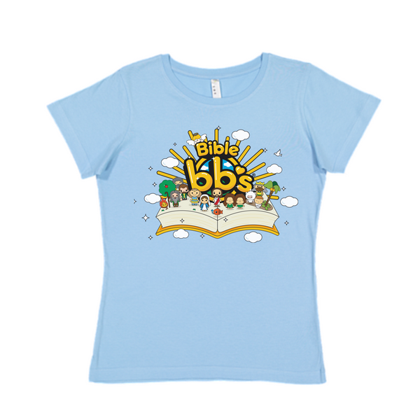 Bible bb's Open Book Women's Logo Tee