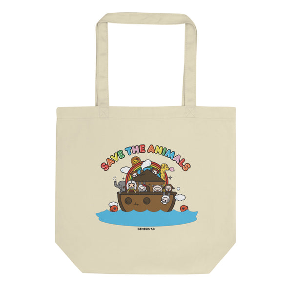 Bible bb's Save the Animals Eco Tote