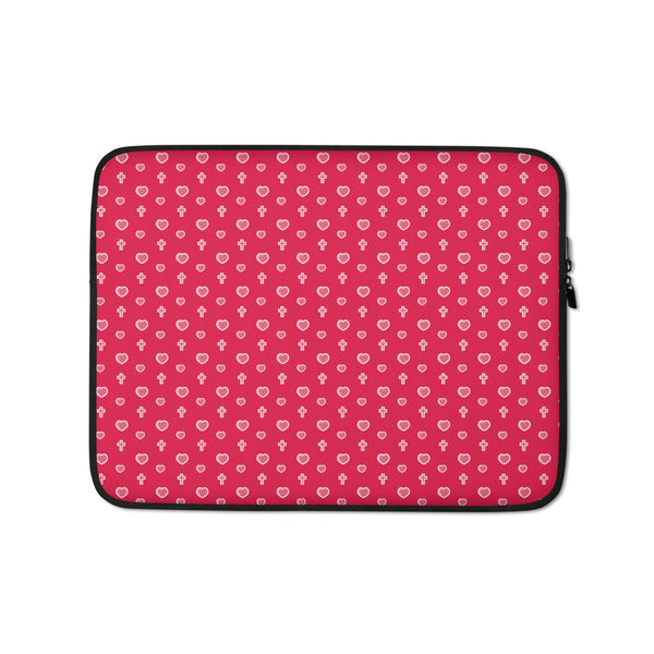 Bible bb's Cross my Heart Laptop Sleeve