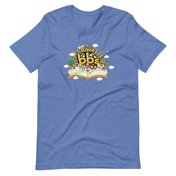 Bible bb's Open Book Adult Logo Tee