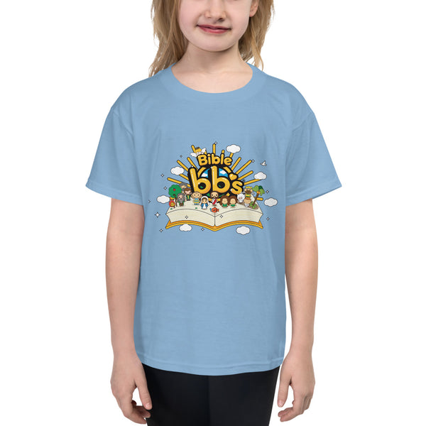 Bible bb's Open Book Kids Logo Tee