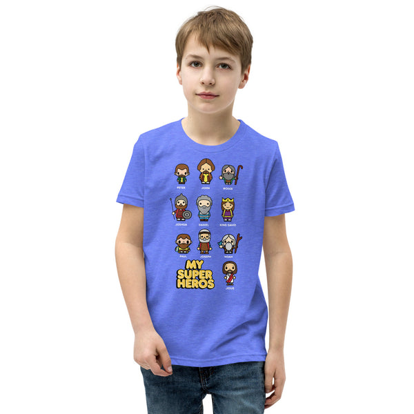 Bible bb's Superheroes Kids Tee
