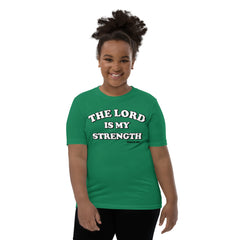 Bible bb's Lord is my Strength Kids Tee