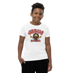 Bible bb's Jesus and Pizza Kid's Tee