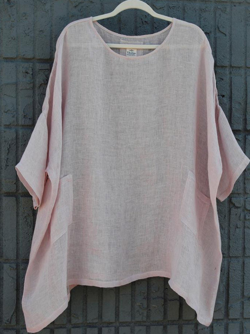 Short Sleeve Round Neck Shirts & Tops  | elledress