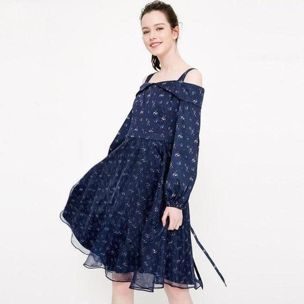 Vero Moda stitching print strap design Dress