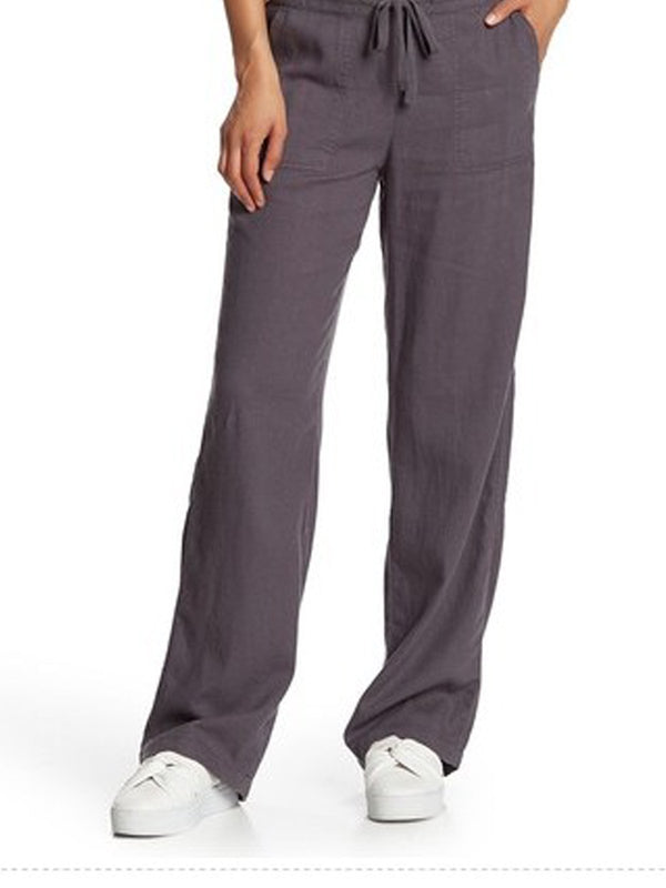 Women Linen Casual Pants  | elledress