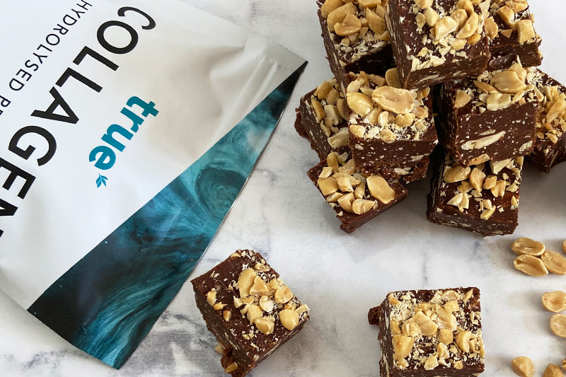 Peanut Chocolate Protein Fudge