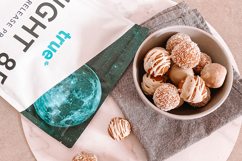 Lemon and Coconut Protein Balls