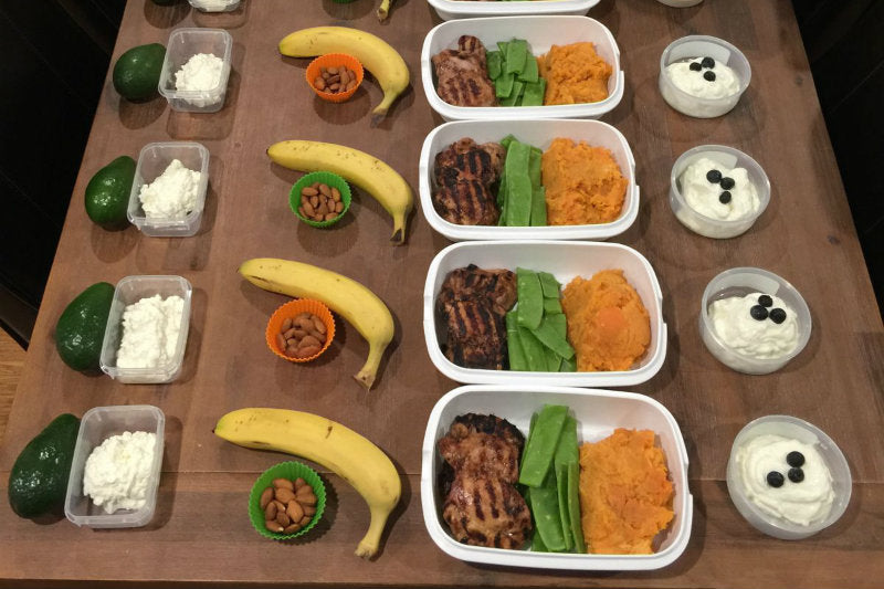 Weekly Meal Preparation Plan - Bulk Up #5