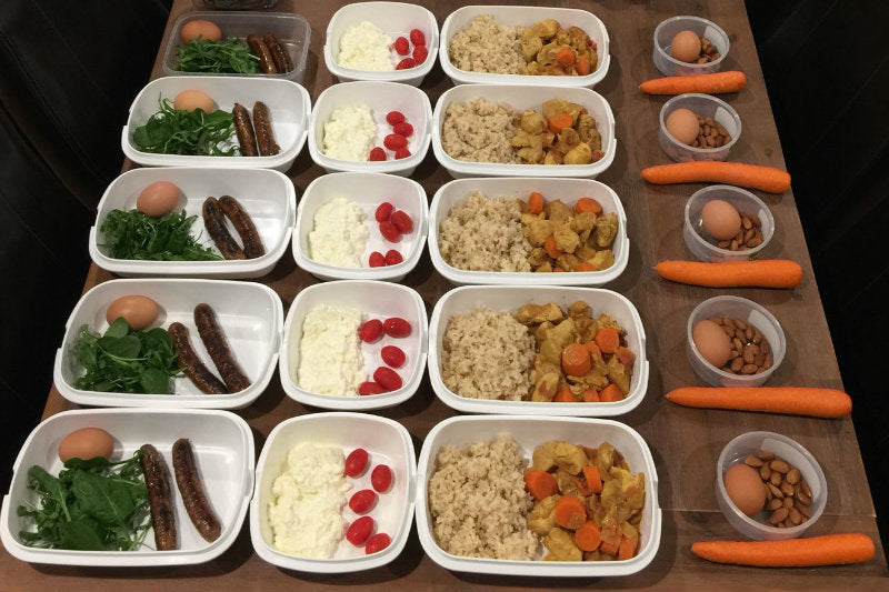 Weekly Meal Preparation Plan - Bulk Up #6