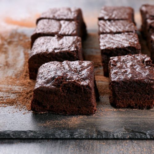 Sweet Potato Chocolate Protein Brownies