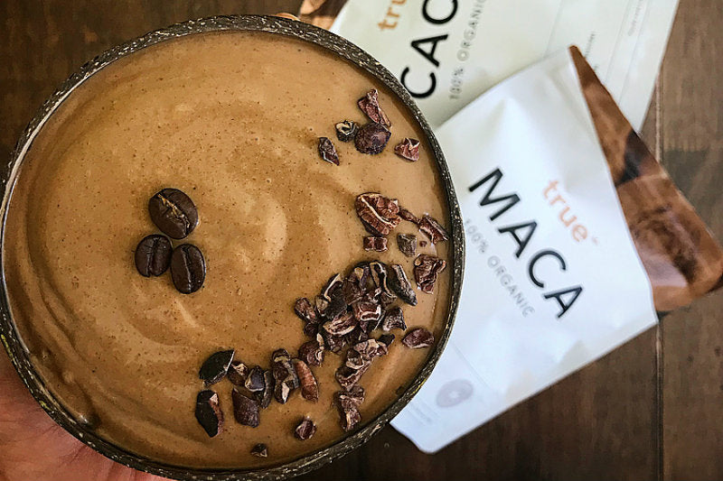 Mocha Smoothie Bowl