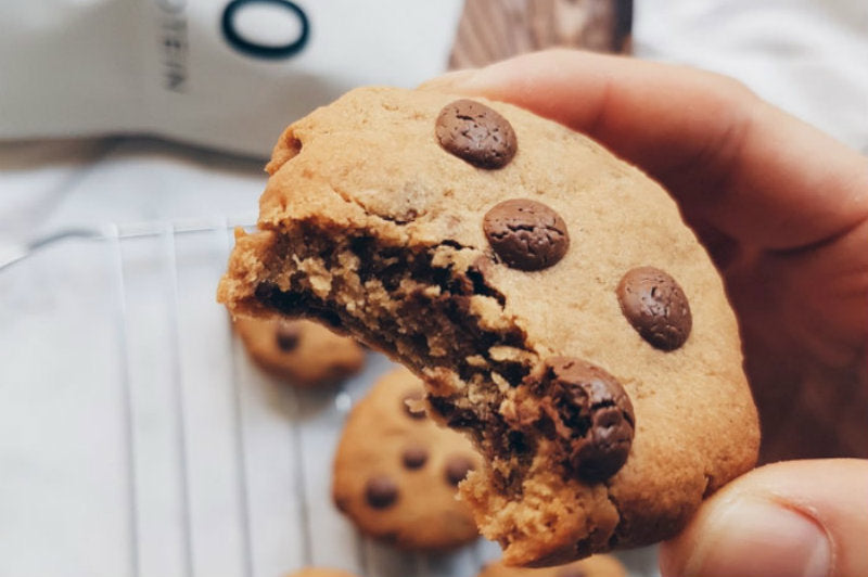 Protein Choc Chip Cookies