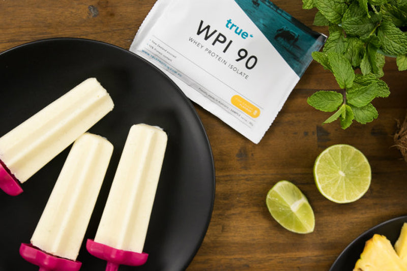 Coconut & Lime Protein Pops