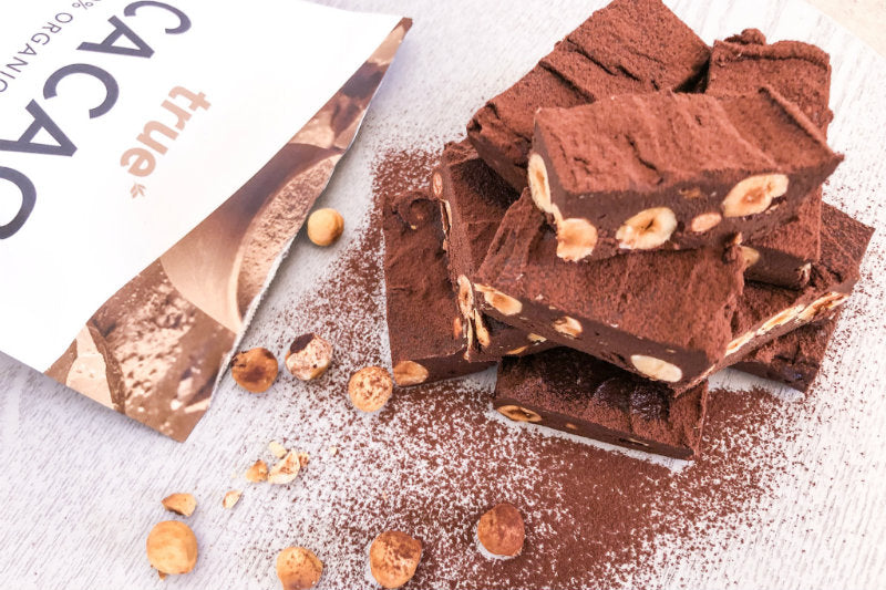 Chocolate Hazelnut Vegan Fudge