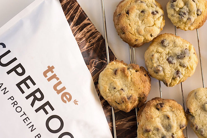 Protein Cookies With Choc Chips