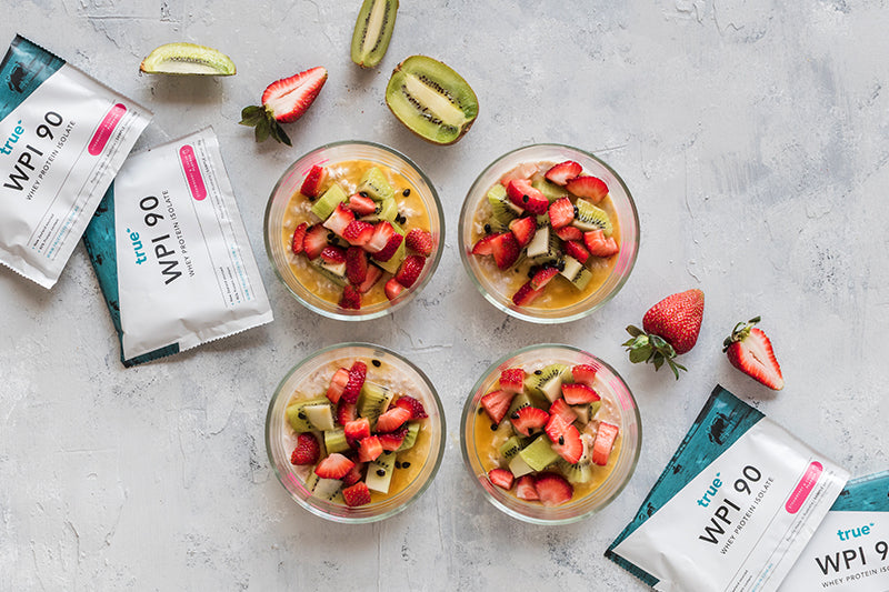 Pavlova Overnight Oats Meal Prep