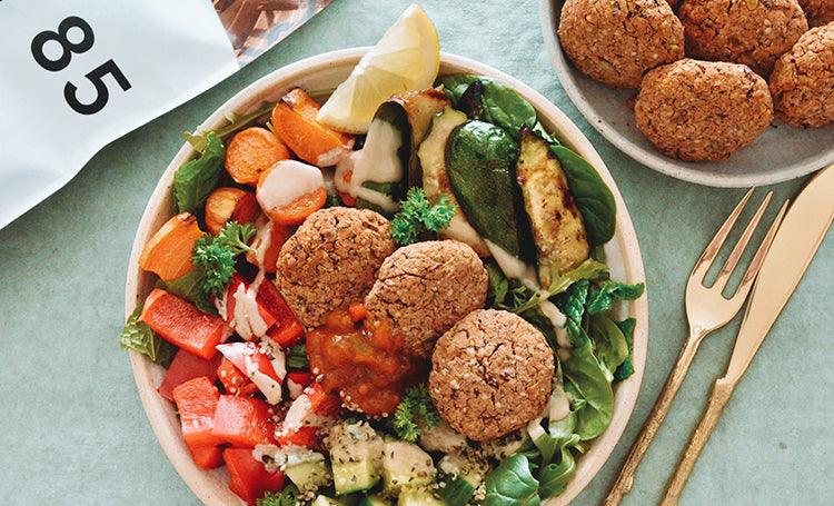 High Protein Hemp Falafels