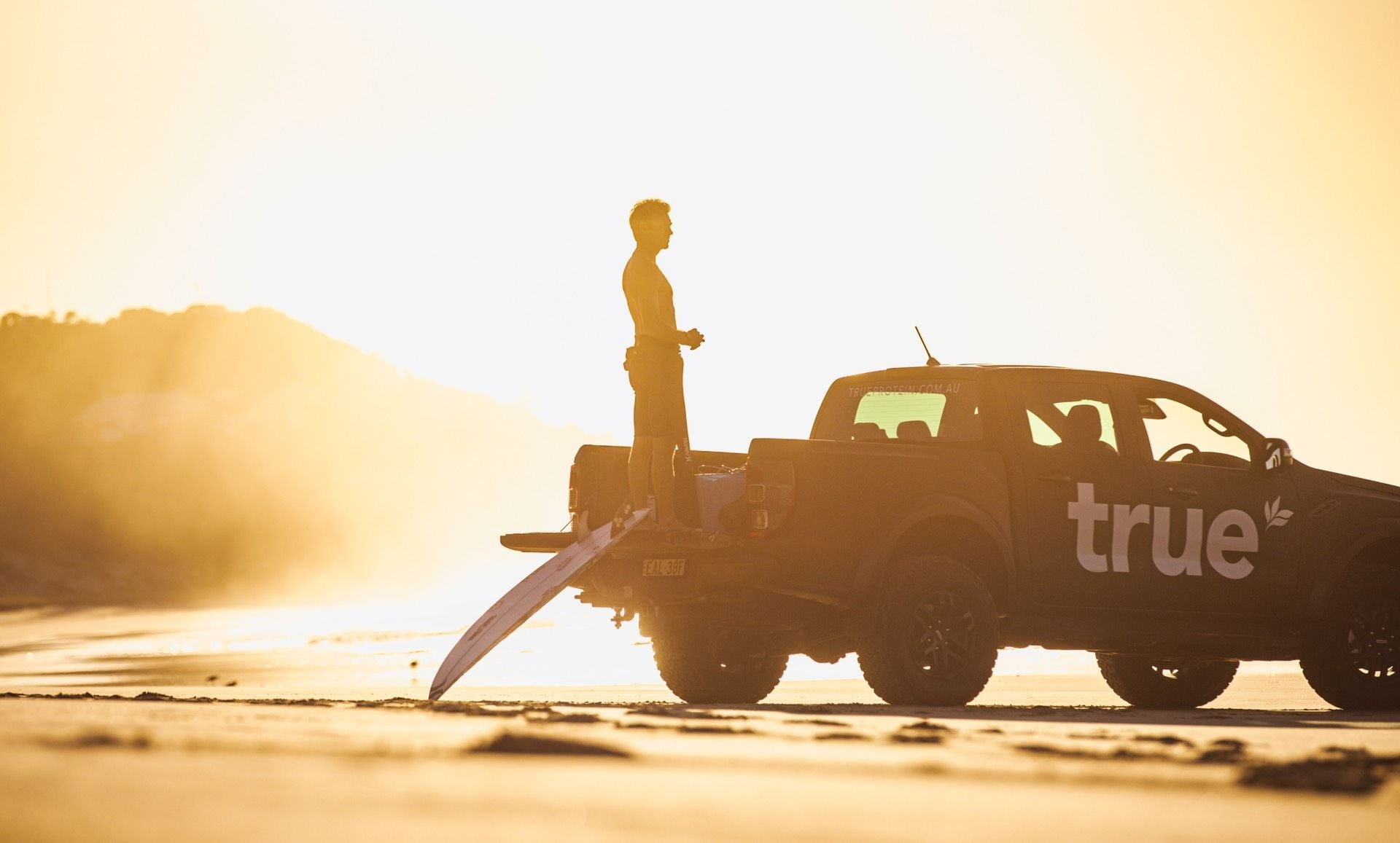 Ford Raptor On The Beach