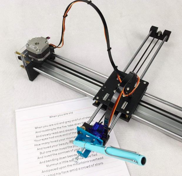 Assembled XY Plotter - PaintingHandwriting Robot Kit - Laser Engraving -  High-Precision - CorexyHbot structure - Open source