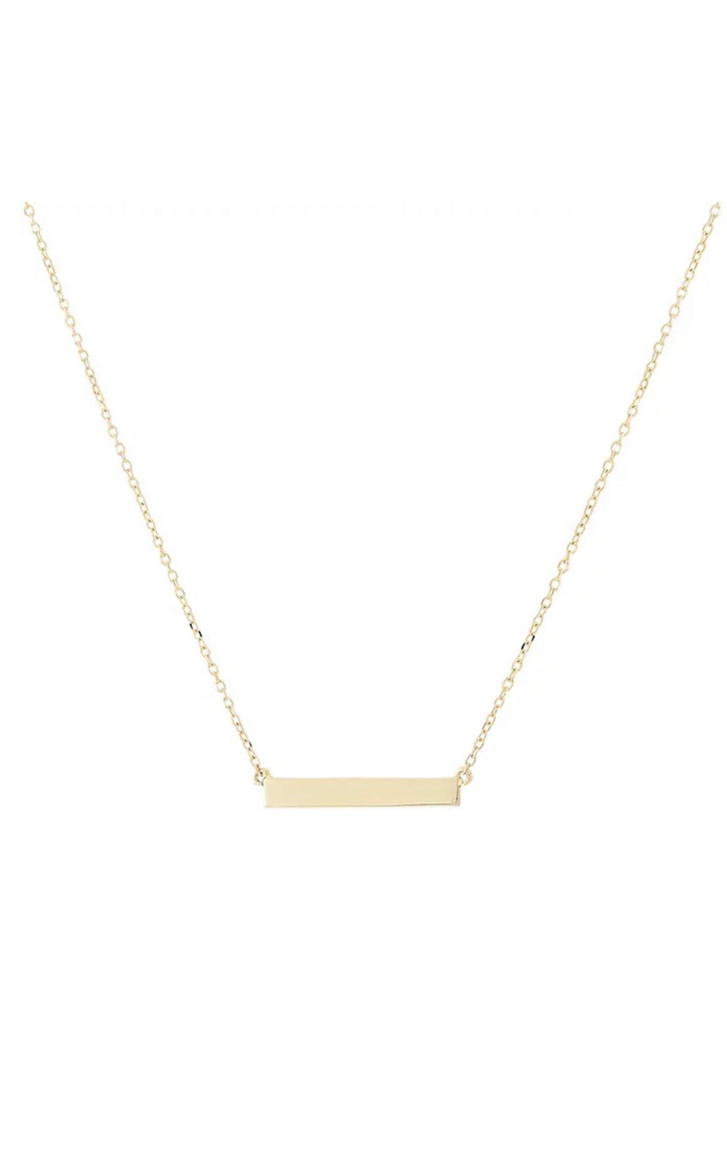 Briar Rectangle Bar Necklace