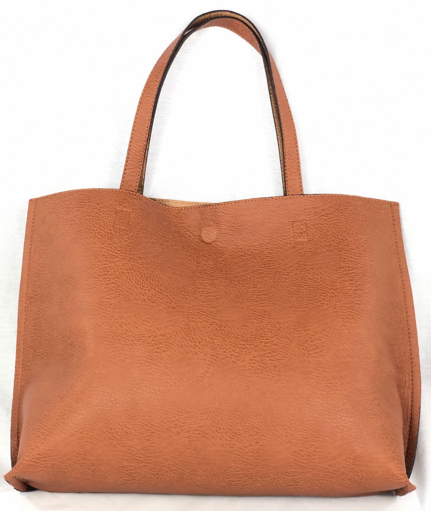 Street Level Reversible Tote - Vegan Friendly - Multiple Colors