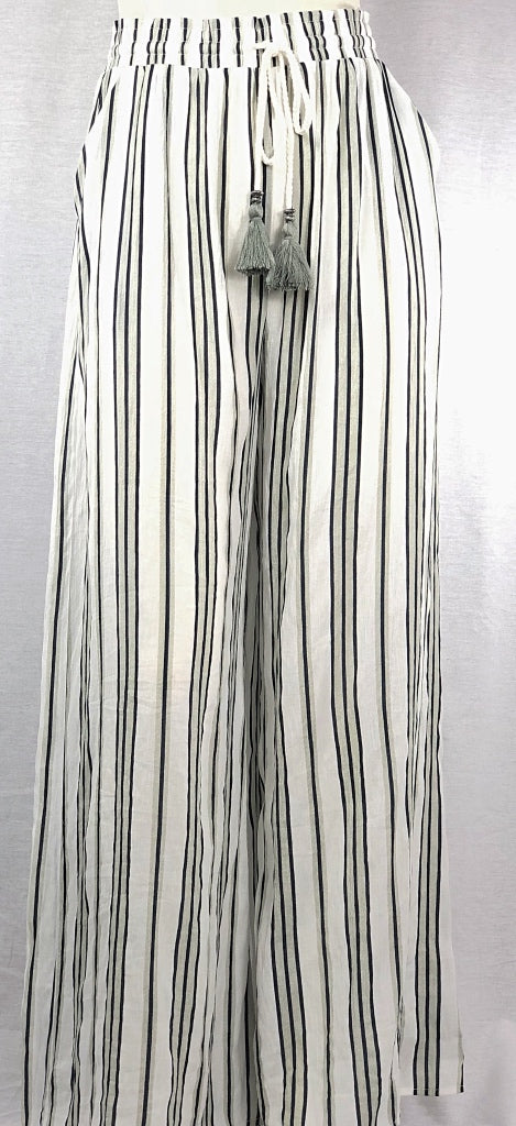 Striped Rayon Pallazo Pant