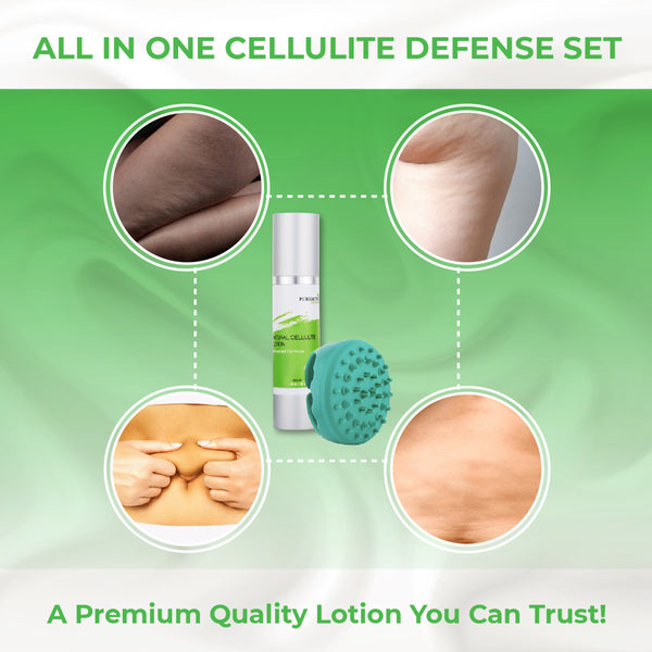 Cellulite Cream with Cellulite Massager