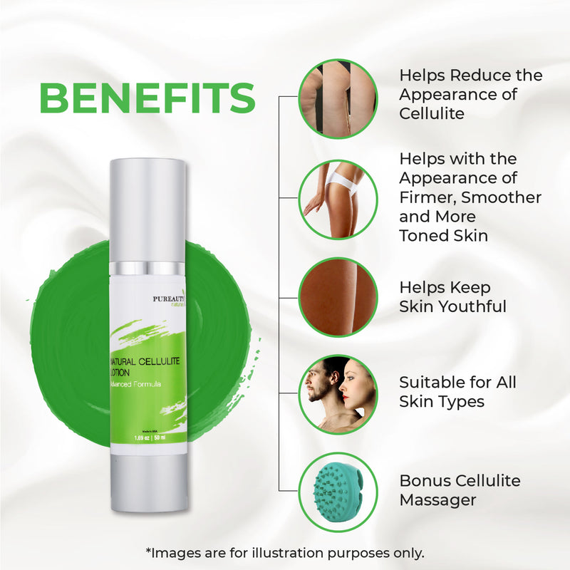 Cellulite Lotion with Cellulite Massager