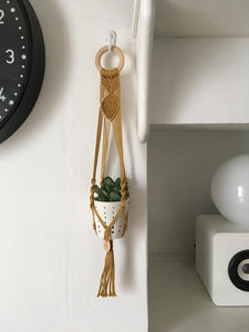 Mini Kachya - Macrame Pot Hanger