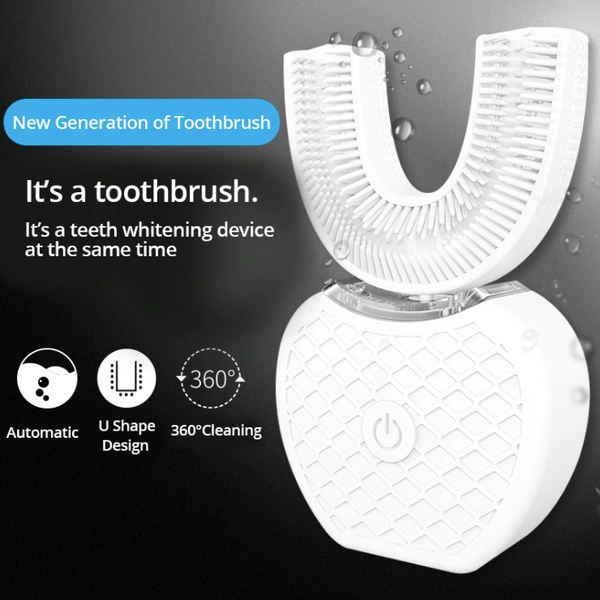 AmoreZap Handsfree U-Shaped 360° Whitening ToothBrush