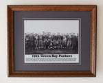 1921 Green Bay Packers Team Photo