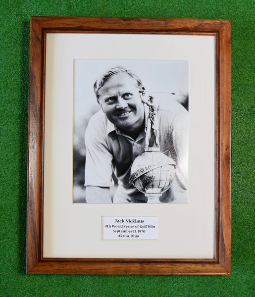 Jack Nicklaus - Wins 4th World Series of Golf Title 1970