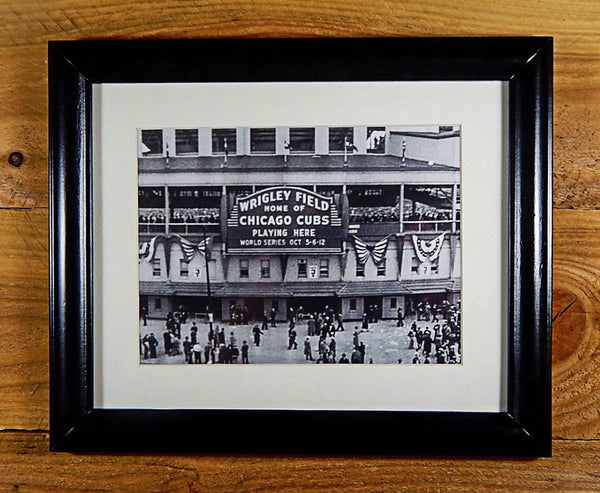 Wrigley Field - Iconic Chicago Cubs Ball Park During 1945 World Series