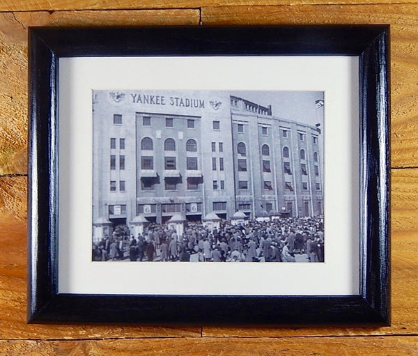 Yankee Stadium - 1940's Photo Classic New York Ball Park - Vintage Sports Wall Hanging