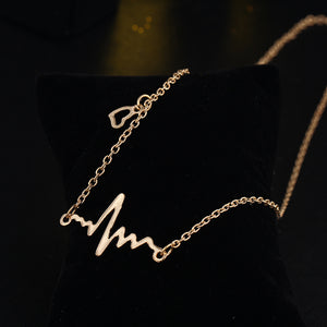 Heartbeat Pendant Necklace
