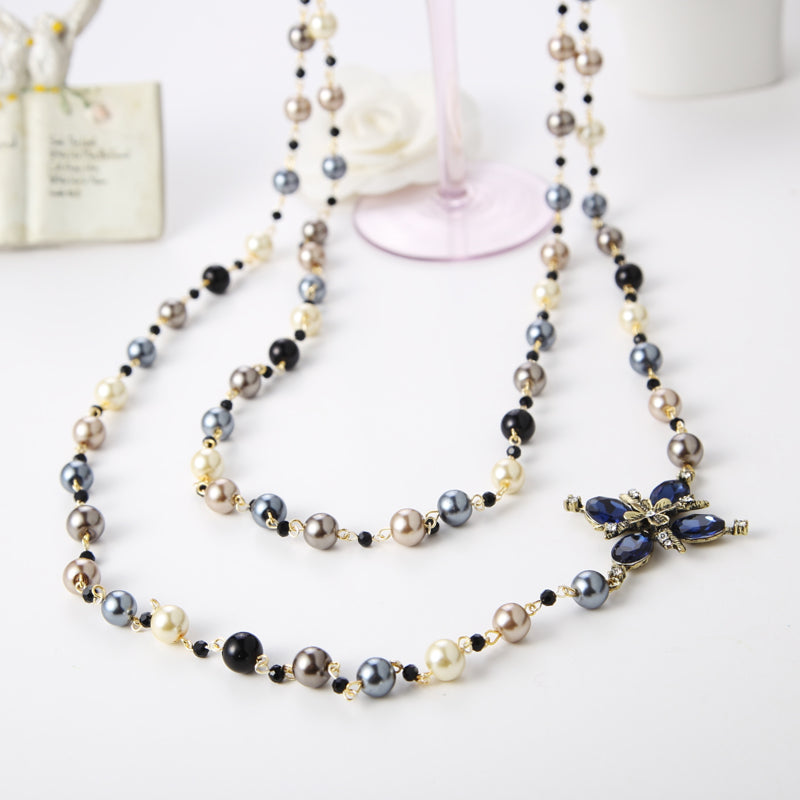 Chain of Pearl Necklace