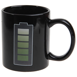 Heat Sensitive Reacting Charging Mug