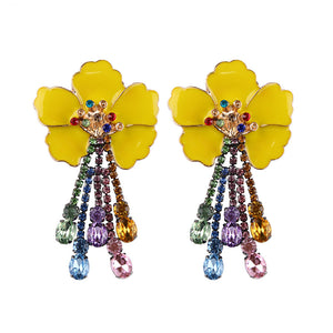 Charm Flower Earring