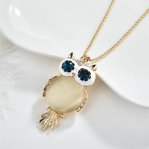 Owl Princess Charm Necklace