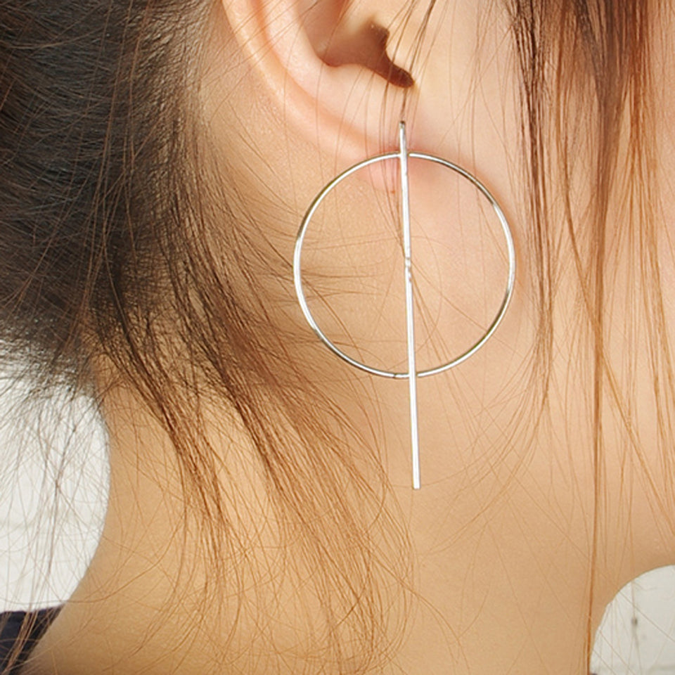 Round the Hoop Earrings