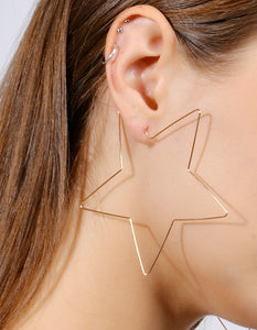 The Star Hoop earrings