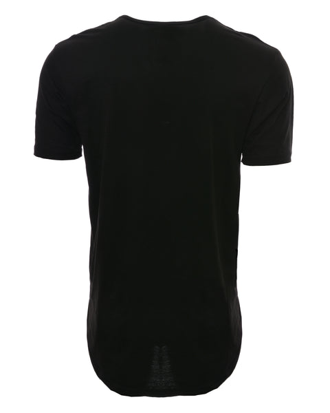 Bandit Logo Elongated Shirt - Black