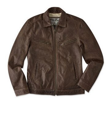 e655a677b Worn to Perfection Leather Jacket